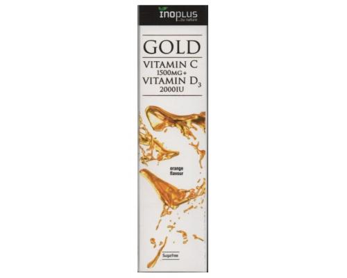 INOPLUS GOLD VITAMIN C 1500mg + VITAMIN D3 2000iu