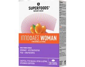 SUPERFOODS ΙΠΠΟΦΑΕΣ WOMAN - ενέργεια & τόνωση