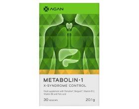 AGAN Metabolin-1  vegicaps - Για την πρόληψη και αντιμετώπιση των διαταραχών του Μεταβολικού Συνδρόμου