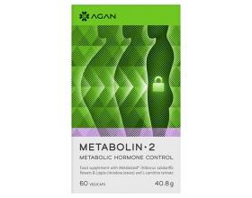 AGAN METABOLIN-2 60 vegicaps - Σταθεροποιεί το σωματικό βάρος – Ισορροπεί τις μεταβολικές ορμόνες