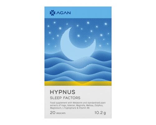AGAN HYPNUS SLEEP FACTORS – 20 VEGICAPS