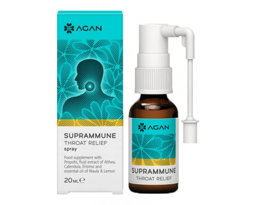AGAN SUPRAMMUNE THROAT RELIEF spray 20 ml