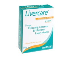Livercare-Φυσικό αποτοξινωτικό & καθαριστικό ήπατος
