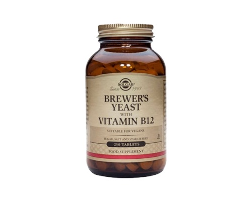 SOLGAR BREWER'S YEAST WITH VITAMIN B12