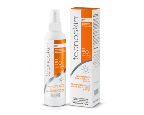 Tecnoskin Sun Protect Dry Touch Oil Spf 50