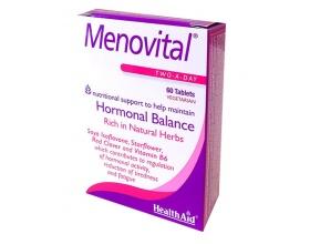 Menovital - Φυσικός συνδυασμός για την εμμηνόπαυση