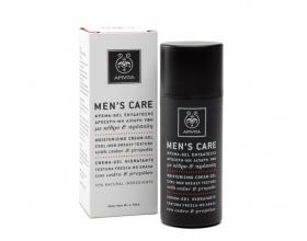 APIVITA MEN'S CARE CREAM GEL – Κρέμα Ενυδάτωσης με Δροσερή μη Λιπαρή Υφή