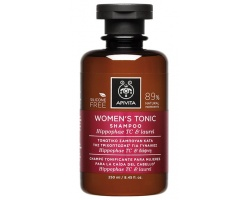 APIVITA WOMEN'S TONIC SHAMPOO - Τονωτικό Σαμπουάν Κατά της Τριχόπτωσης για Γυναίκες (με Hippophae & Δάφνη )