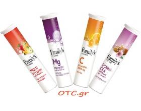 Family's - OTC πρόταση  4 προϊόντων