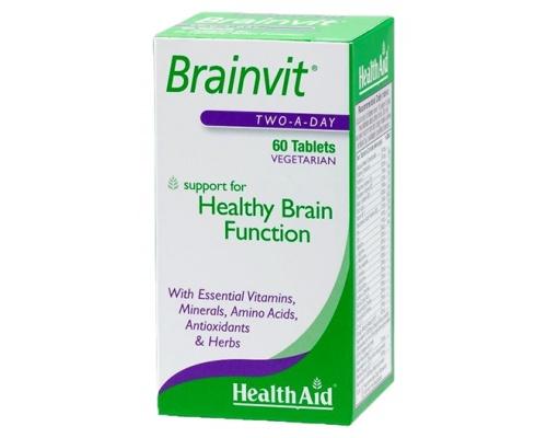 Brainvit-Ενίσχυση μνήμης & εγκεφαλικών λειτουργιών