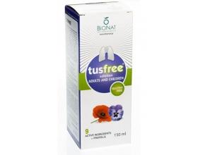 Tusfree Σιρόπι – Για Ξηρό & Παραγωγικό Βήχα, Ενίσχυση Ανοσοποιητικού