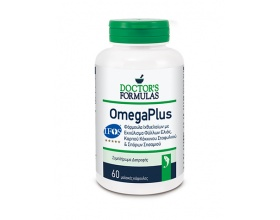 OMEGAPLUS Φόρμουλα Ιχθυελαίων με Ελαιοευρωπαΐνη & Εκχύλισμα Καρπού Κόκκινου Σταφυλιού