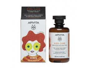 APIVITA KIDS Παιδικό Σαμπουάν & Αφρόλουτρο με Μανταρίνι & Μέλι