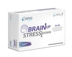 Brainup Stressdown – Συνδυασμός φωσφολιπιδίων πολλαπλών δράσεων