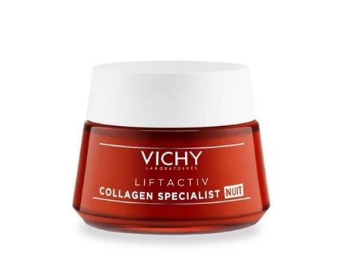 VICHY LIFTACTIV Collagen Specialist Αντιγηραντική Κρέμα Νύχτας