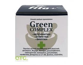 FITO+ Green COMPLEX 24ωρη φυτική κρέμα προσώπου