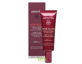 APIVITA WINE ELIXIR WRINKLE & FIRMNESS Lift Day Cream spf 30