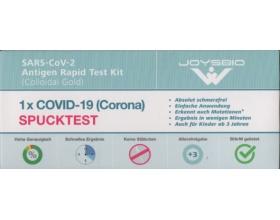 Self Test JOYSBIO SARS-CoV-2 Antigen Rapid Test Kit (Colloidal Gold) για δείγμα σάλιου