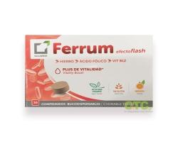 SALUDBOX Ferrum – Μασσώμενα δισκία σιδήρου