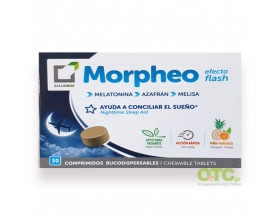 Saludbox Morpheo - Μασσώμενα δισκία άμεσης δράσης που βοηθούν στον ύπνο